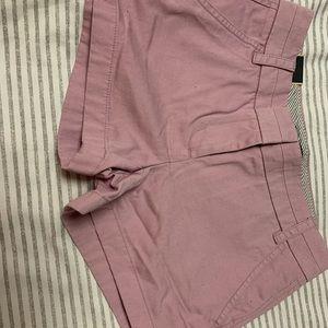 J Crew Chino Shorts New 00